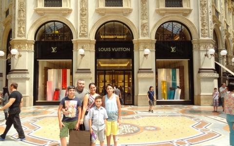 Louis Vuitton, Galleria Vittorio Emanuele II, Milan Italy, 2015
