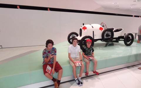 Porsche Museum, Stuttgart, Germany 2015