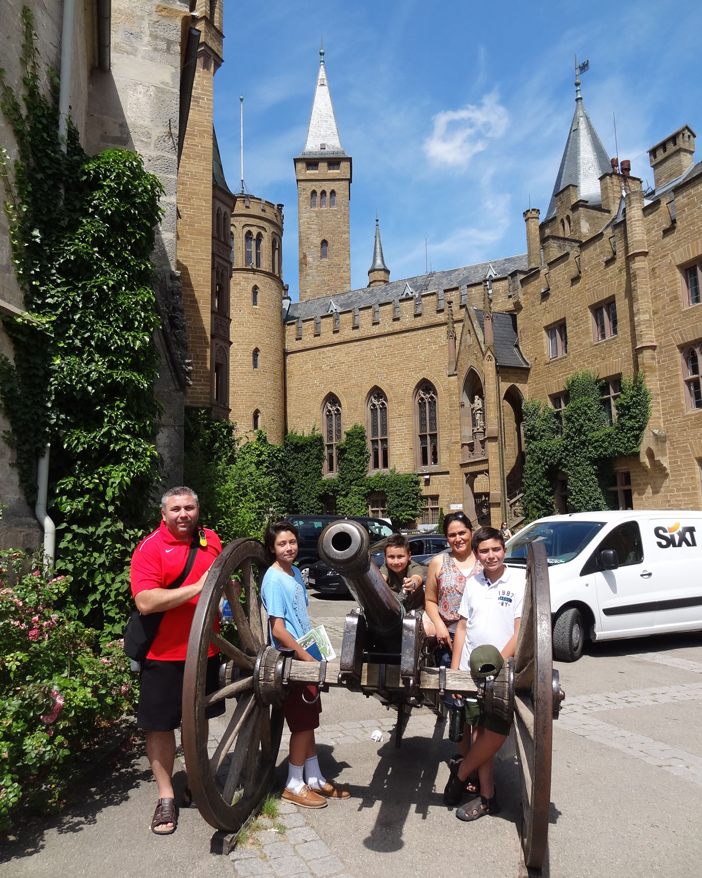 Hohenzollern Castle, Germany 2015