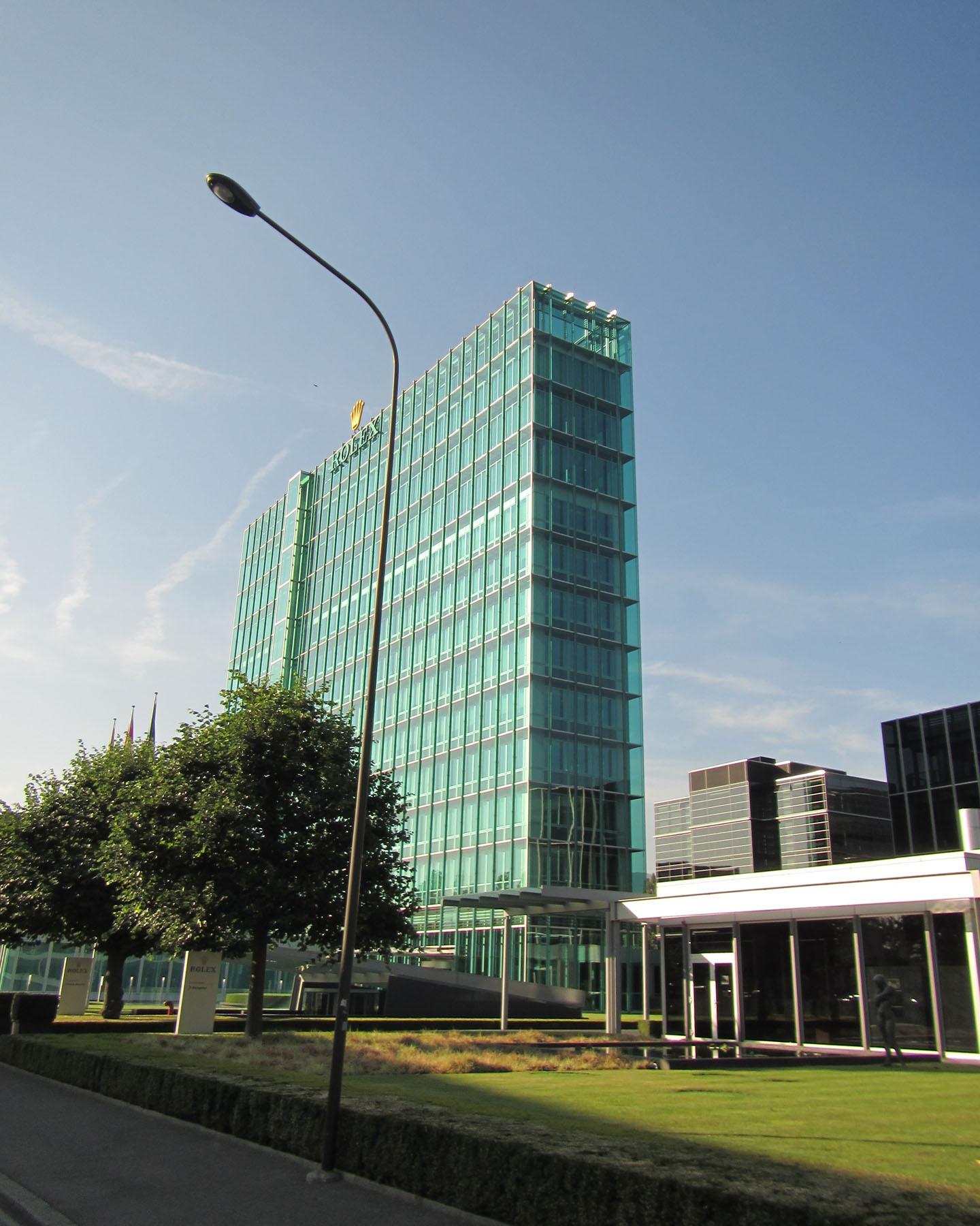 Rolex World Headquarters, Geneva Switzerland, 2015