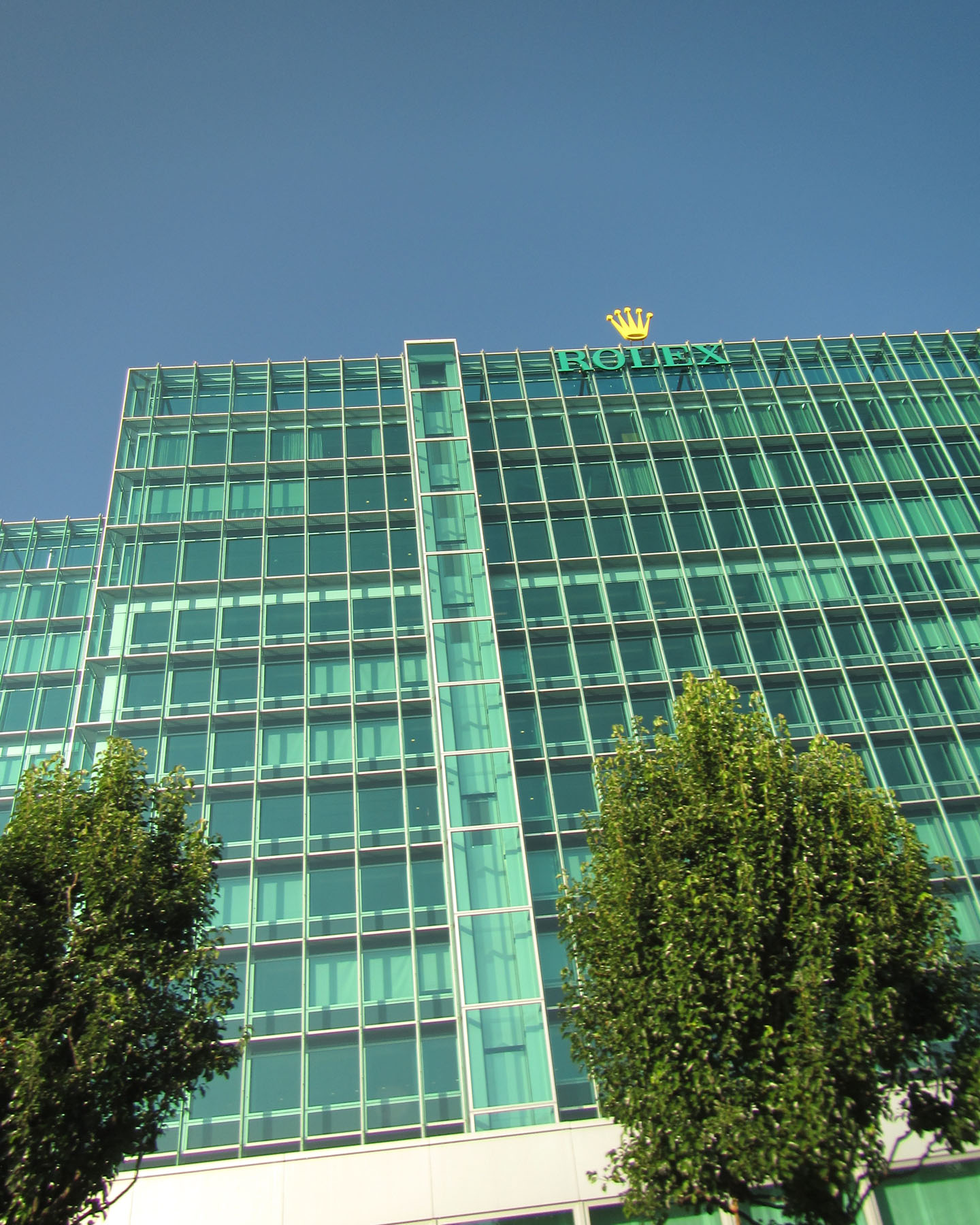 Rolex World Headquarters, Geneva Switzerland, 2015