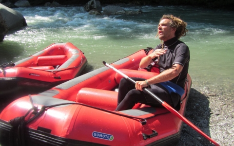 White Water Rafting, Dranse River, France, 2015