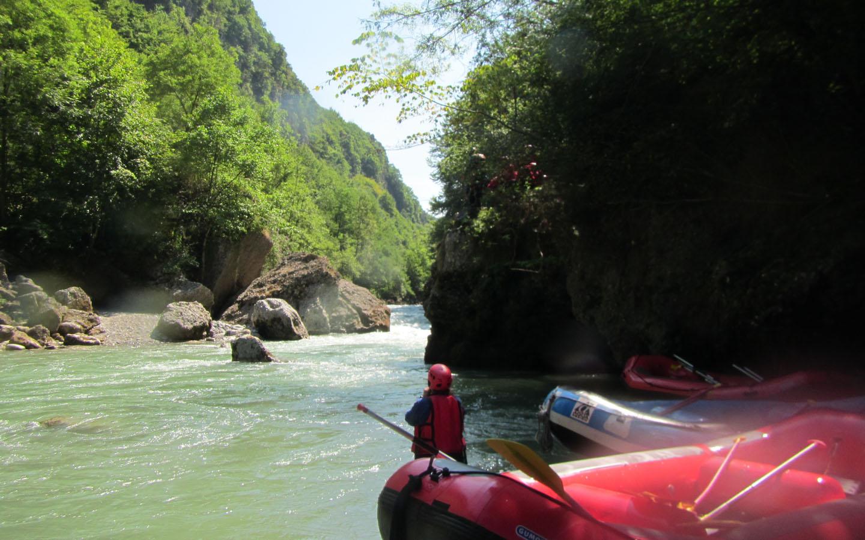 White Water Rafting, Dranse River, France, 2015