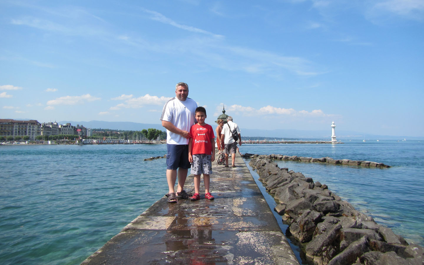 Jet d'Eau, Geneva, Switzerland 2015