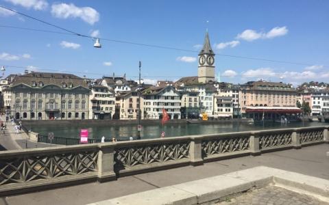 Münsterbrücke, Zürich Switzerland 2015