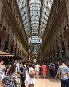 Galleria Vittorio Emanuele II, Milan Italy, 2015