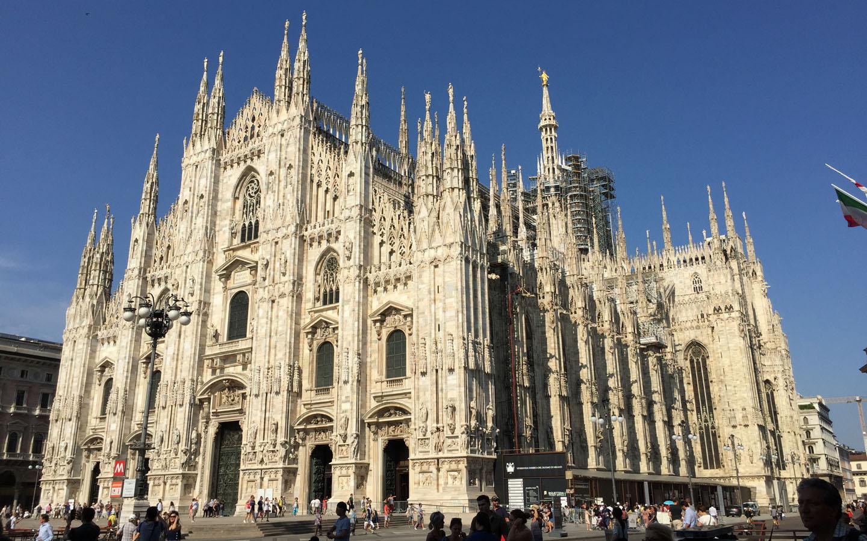 Milan Cathedral, Piazza del Duomo, Milano, Italy 2015