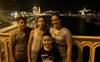 Margaret Bridge, Budapest, Hungary, 2015