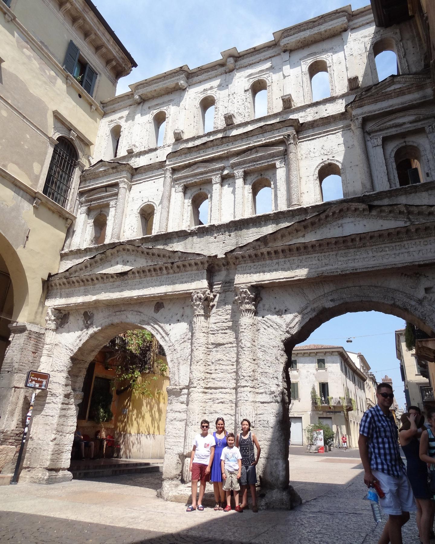 Roman Aqueduct, Verona, Italy 2015