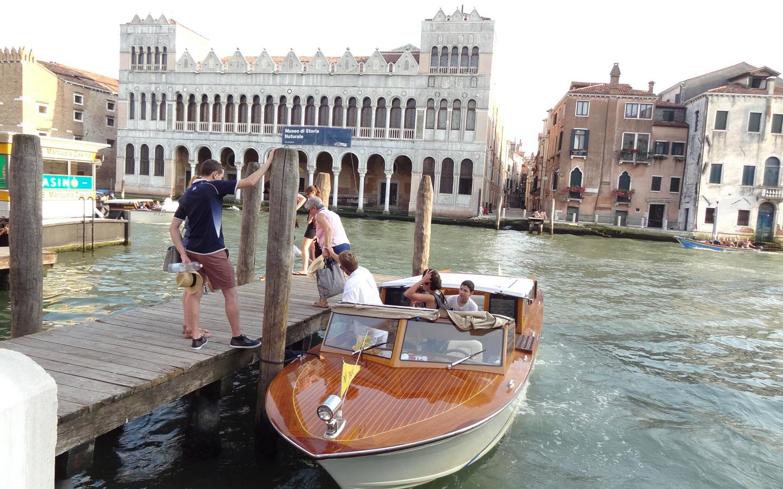 Taxi, Venice, Italy 2015