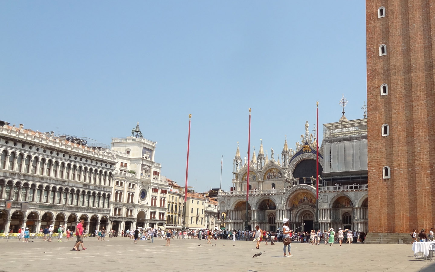 St. Mark's Square (Piazza San Marco) - Venice, Italy, 2015