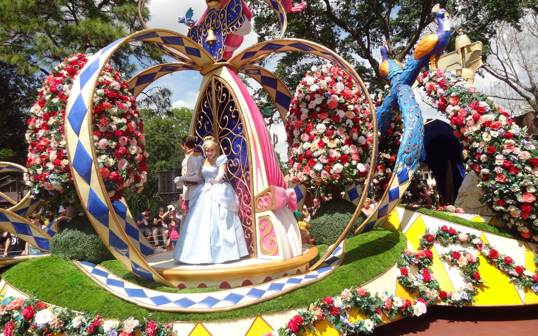 Parade at Magic Kingdom, Disney World, Florida USA, 2016