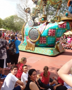 Parade at Magic Kingdom, Disney World, Florida USA, 2016