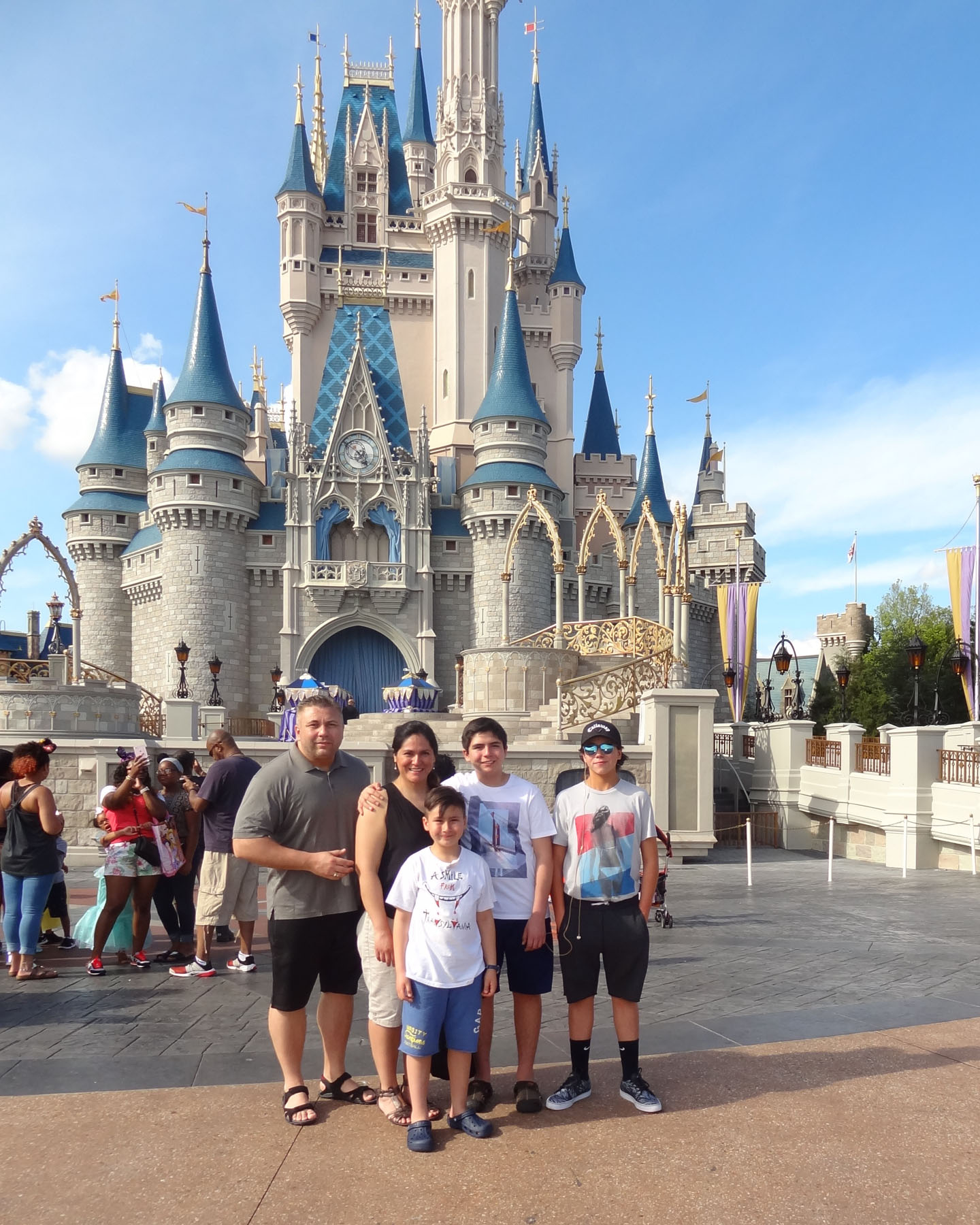 2016 Disney World Florida Usa Tamas