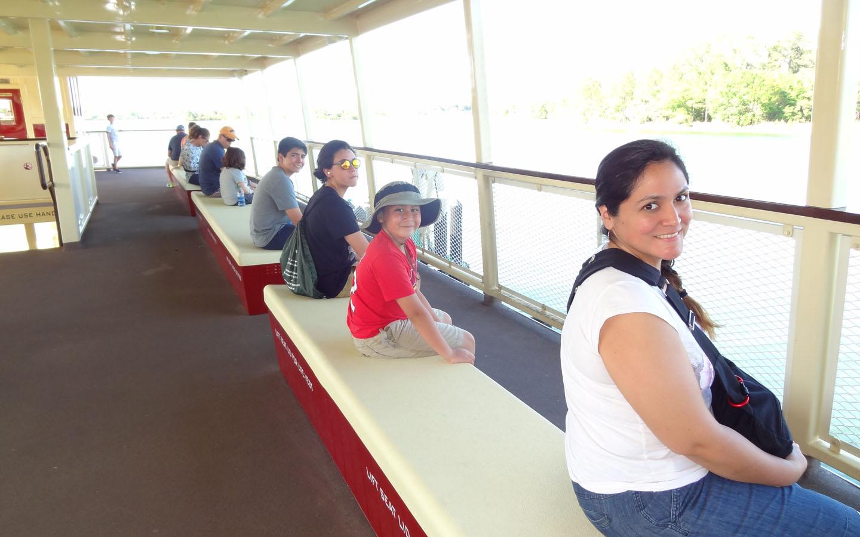 Ferry to Magic Kingdom, Disney World, Florida USA, 2016