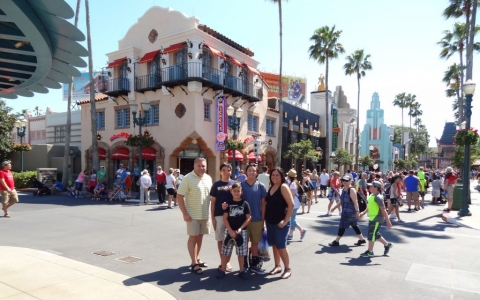 Hollywood Studios, Disney World, Florida USA, 2016