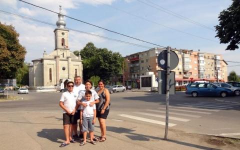 Downtown Ineu, Jud Arad, Romania 2015
