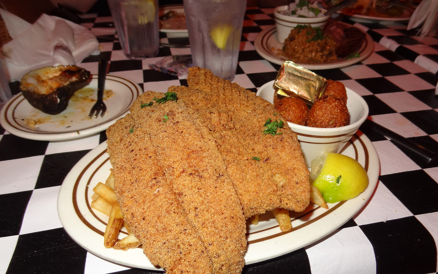 Delicious Cajun Food in New Orleans, USA