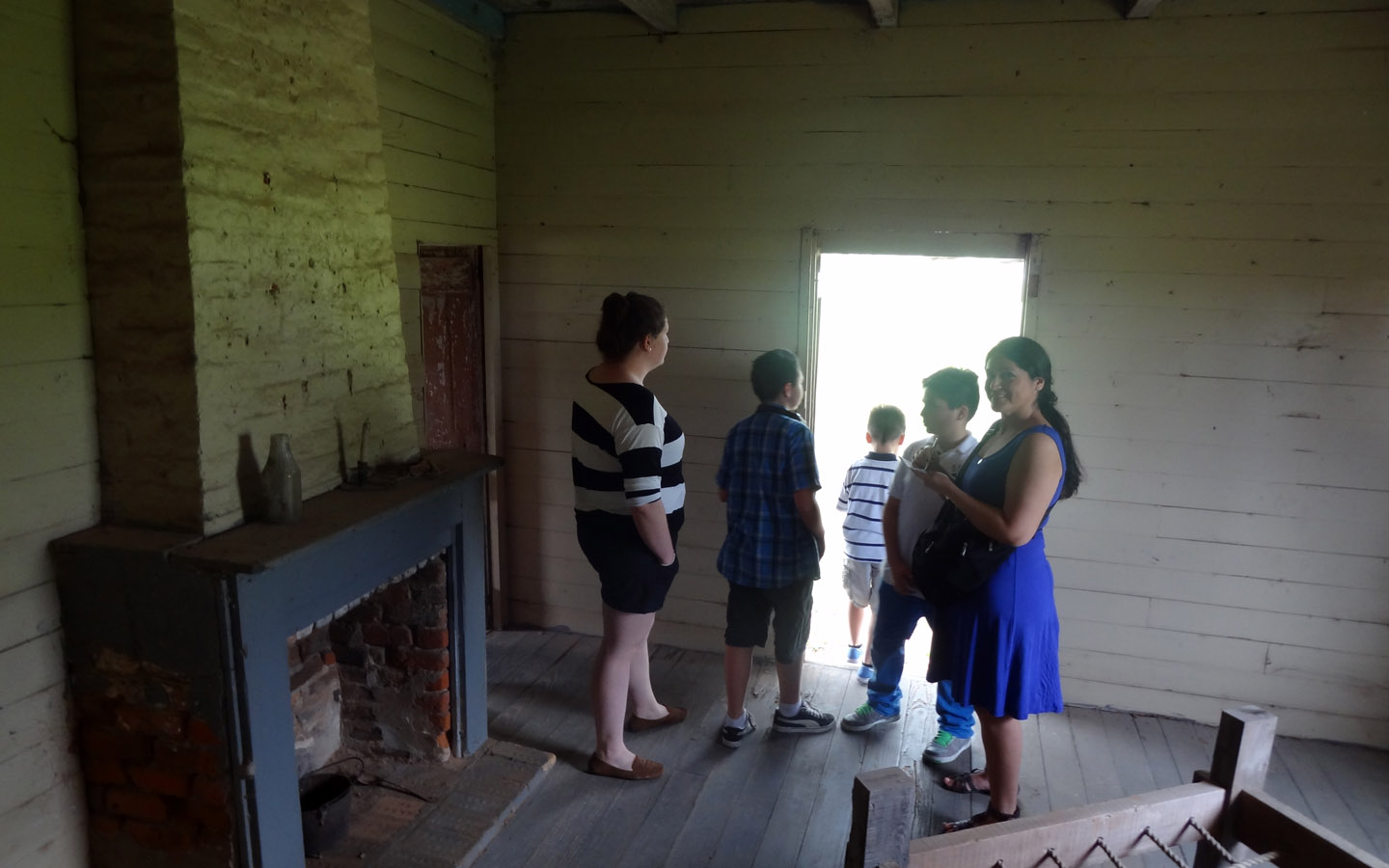 Slave House at the St. Joseph Sugar Cane Plantation, New Orleans