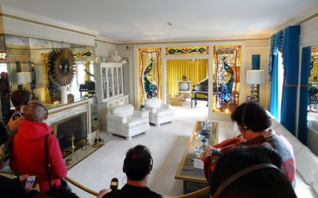 Elvis Presley's Graceland, Memphis, Tennessee USA 2014