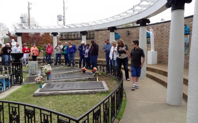 Elvis Presley's Graceland, Memphis, Tennessee USA 2014
