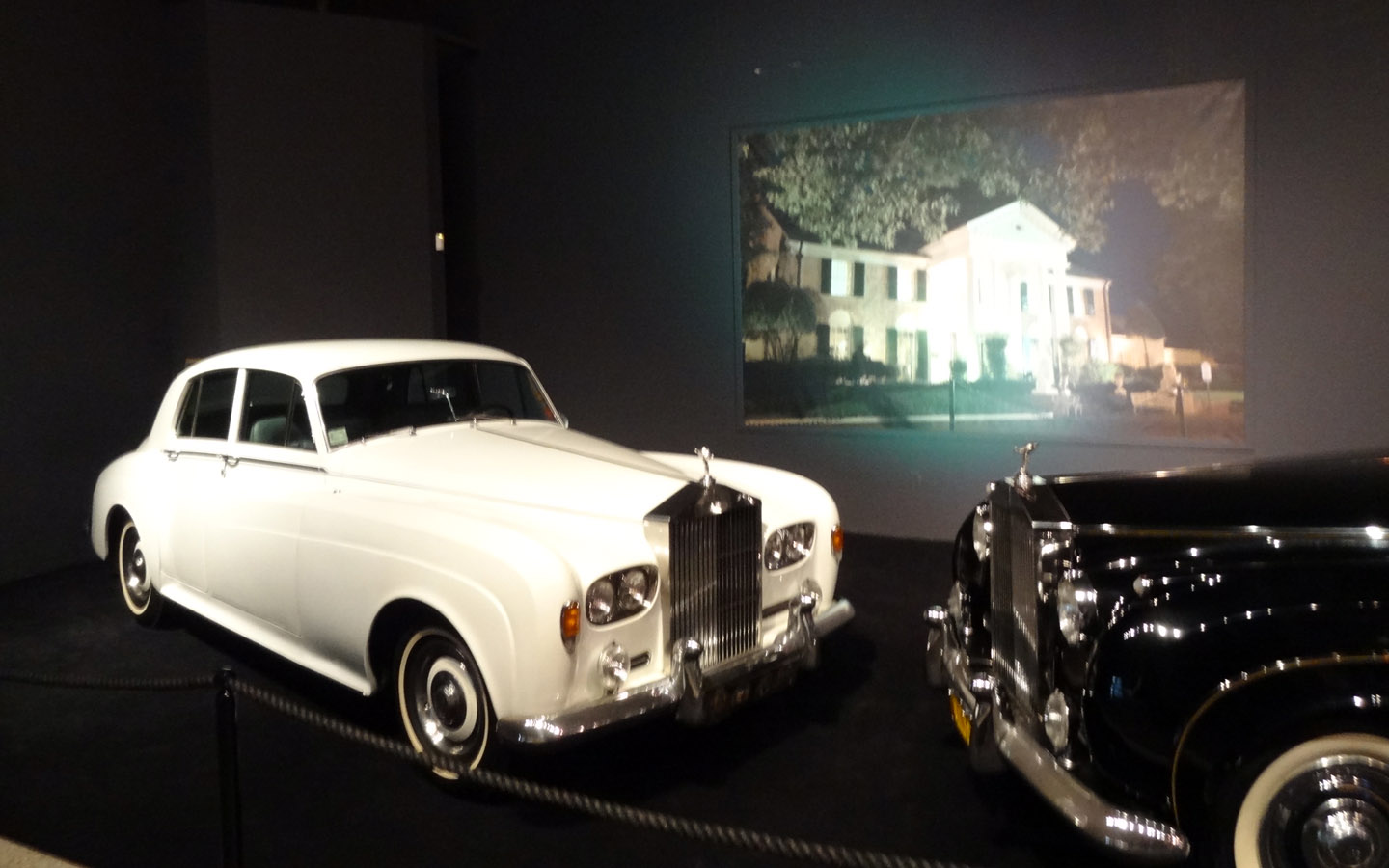 Elvis Presley's cars in Graceland, Memphis, Tennessee USA 2014