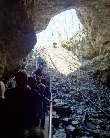 Mammoth Cave National Park, Kentucky USA, 2014
