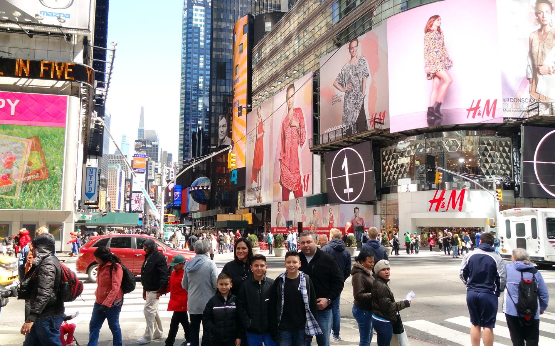 Times Square, New York USA 2014