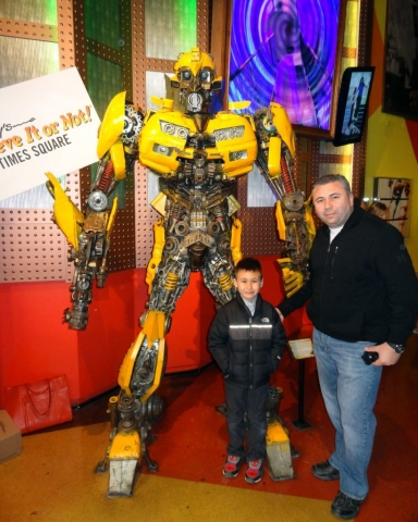 Bumble Bee Transformer, Ripley's Believe it or Not! Times Square, New York 2014