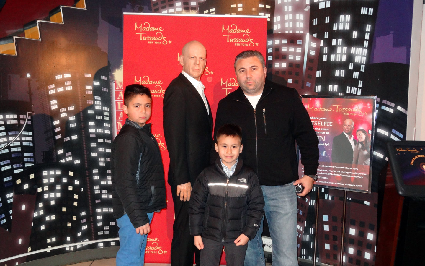 Bruce Willis, Madame Tussauds New York, USA 201