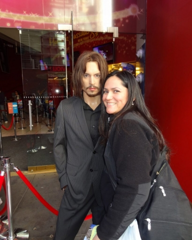 Johnny Depp, Madame Tussauds New York, USA 2014