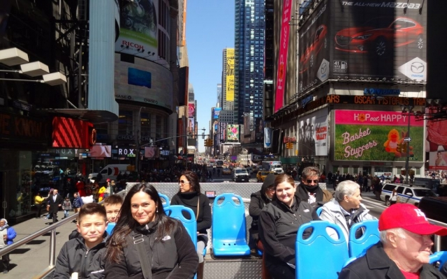 Double Decker Bus Tour, New York, USA 2014