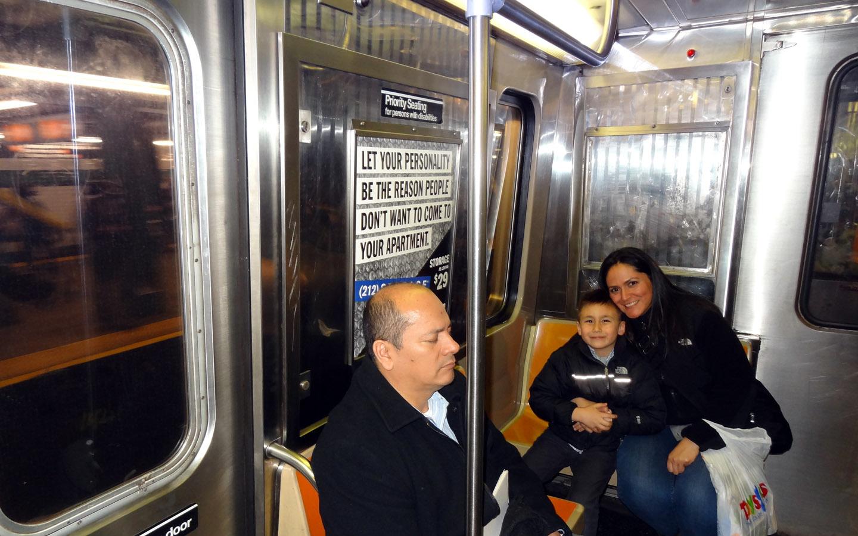 Subway New York, USA 2014