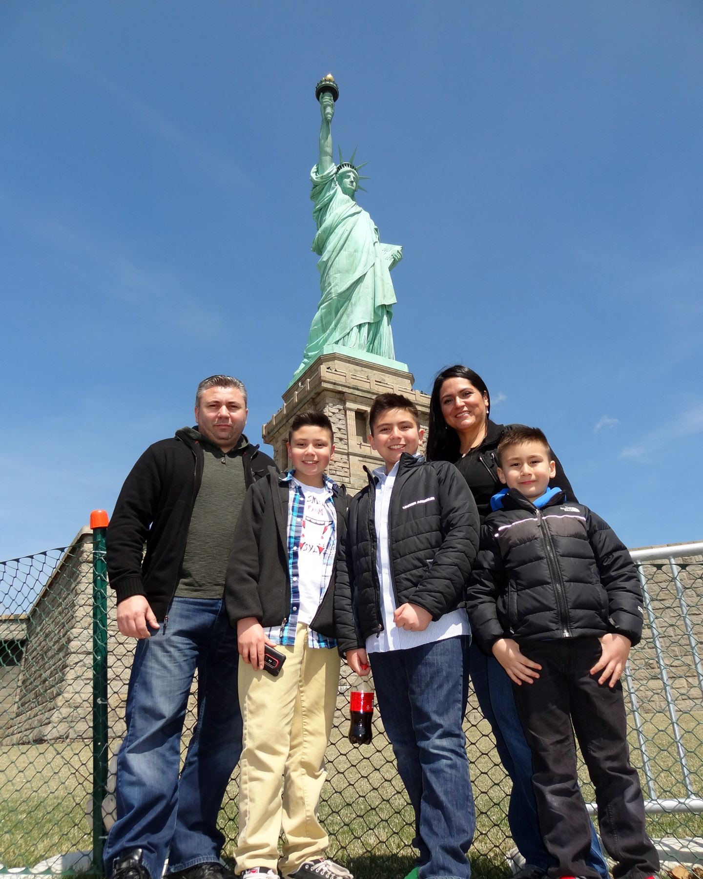 Statue of Liberty, New York, USA 2014