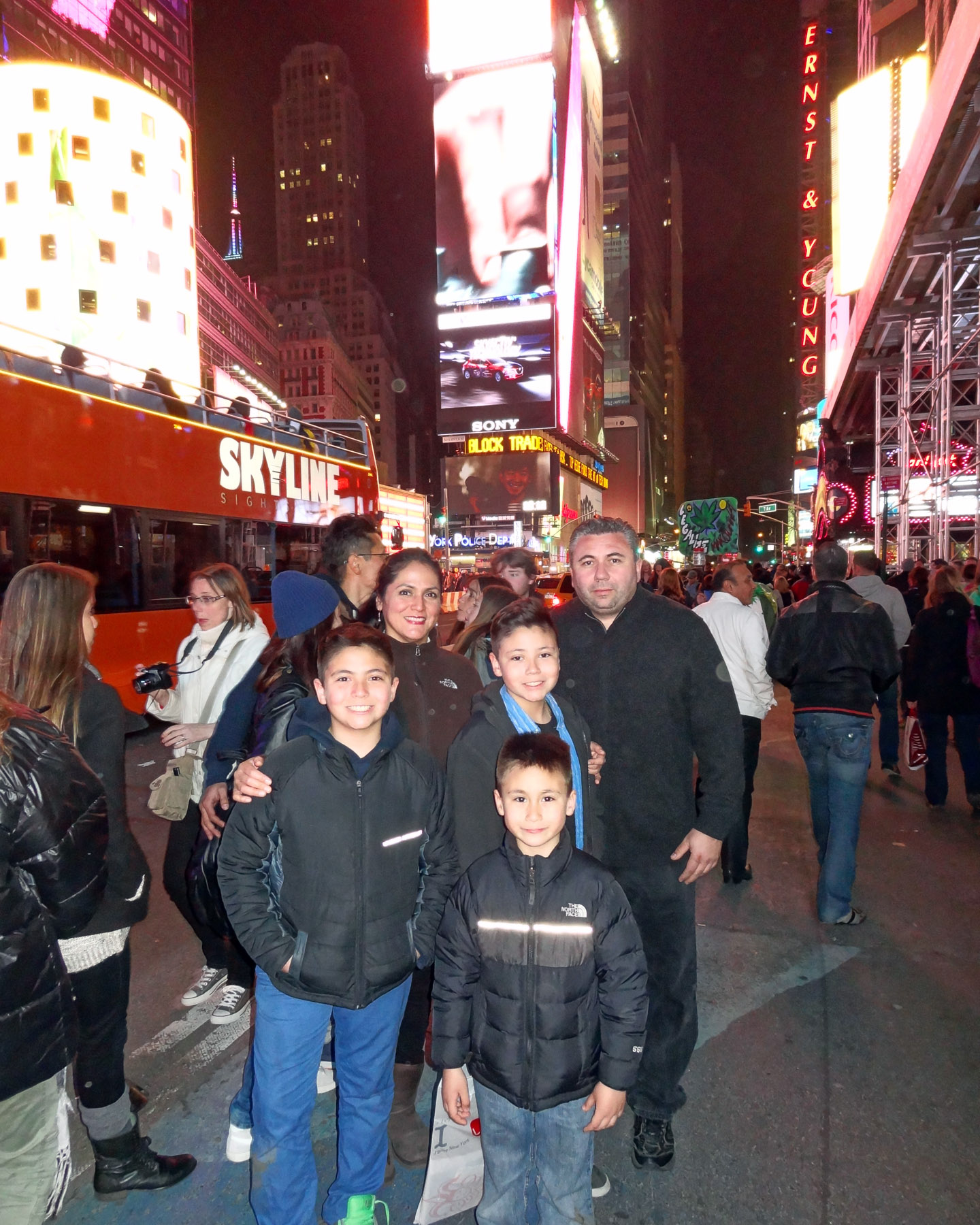 Times Square, New York USA 2014