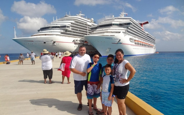 Carnival Dream, Playa Del Carmen, Mexico 2014