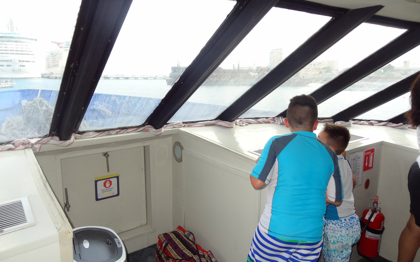 Boat Ride to Playa Del Carmen, Mexico 2014