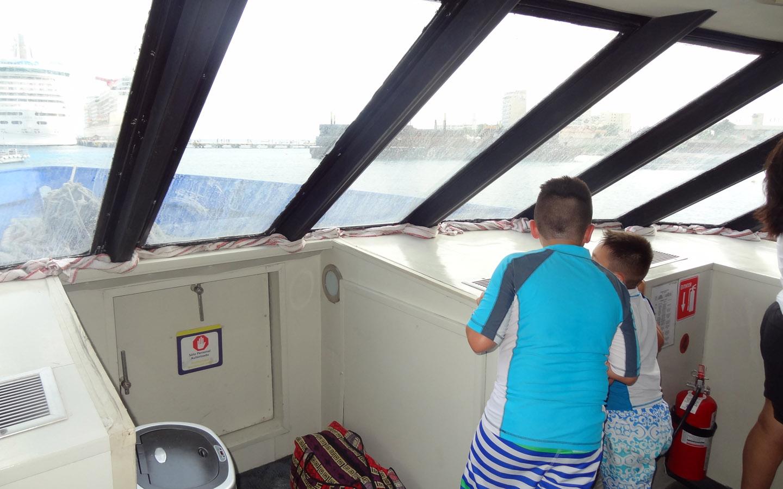Boat Ride to Playa Del Carmen, Mexico 2014