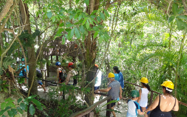 Chaak Tun Cenote, Playa Del Carmen, Mexico (The Secret River) 2014