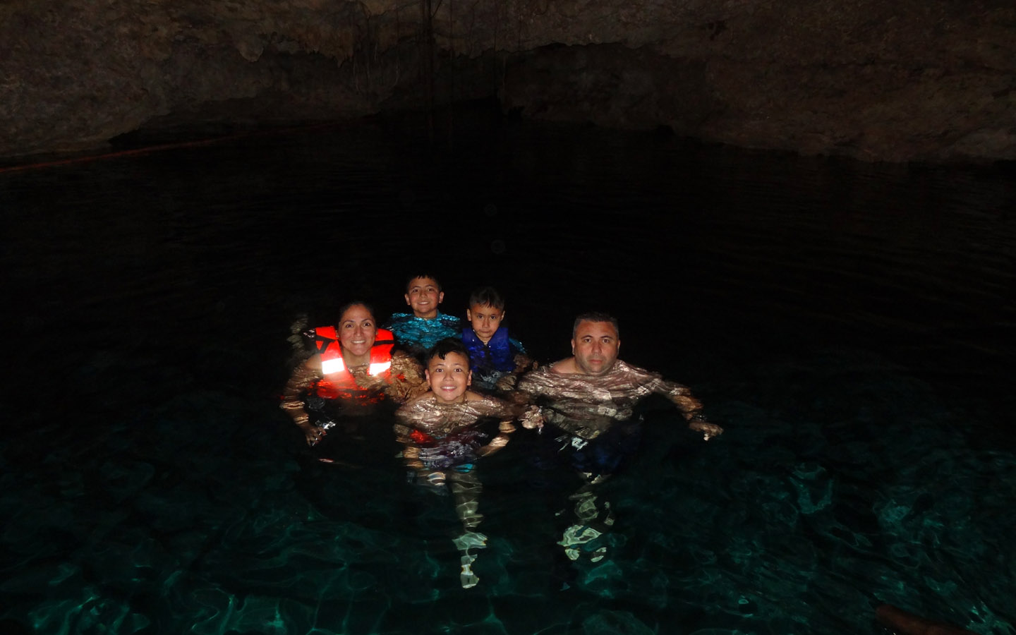 Chaak Tun Cenote, Playa Del Carmen, Mexico (The Secret River) 2014