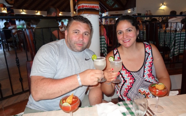 2016 Dominican Republic- Punta Cana - Alicia and Andrei Tamas - VIK Hotel Dining