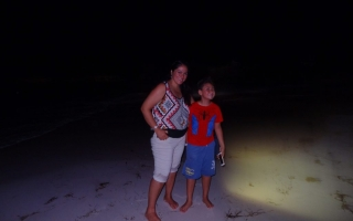 2016 Dominican Republic- Punta Cana - on the beach at night