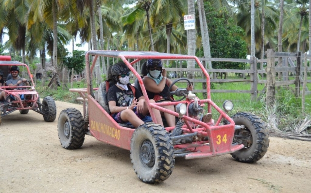 2016 Dominican Republic- Punta Cana - Alicia and Luke Dune Buggy Excursion