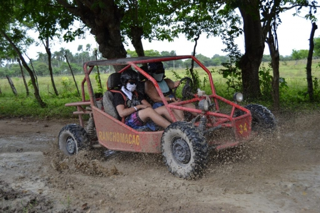 2016 Dominican Republic- Punta Cana - Luke and Alicia Dune Buggy Excursion