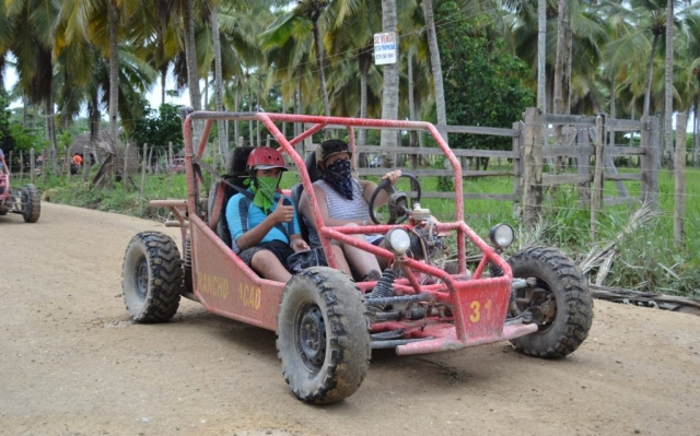 2016 Dominican Republic- Punta Cana - Jacob and Ana Dune Buggy Excursion