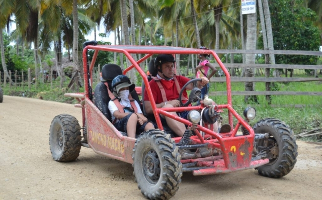 2016 Dominican Republic- Punta Cana - Ethan and Andrei Dune Buggy Excursion