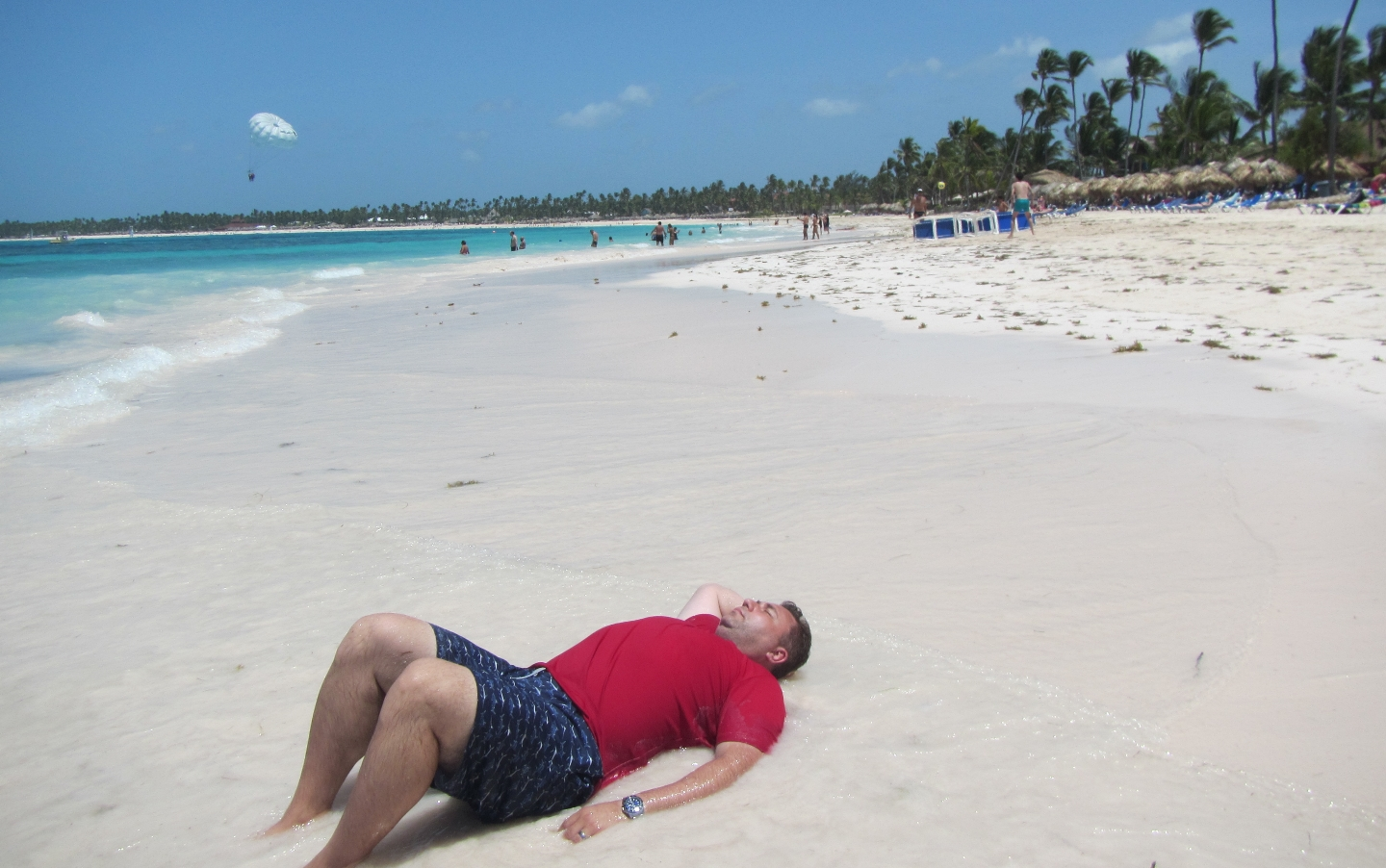2016 Dominican Republic- Punta Cana - Andrei at the beach