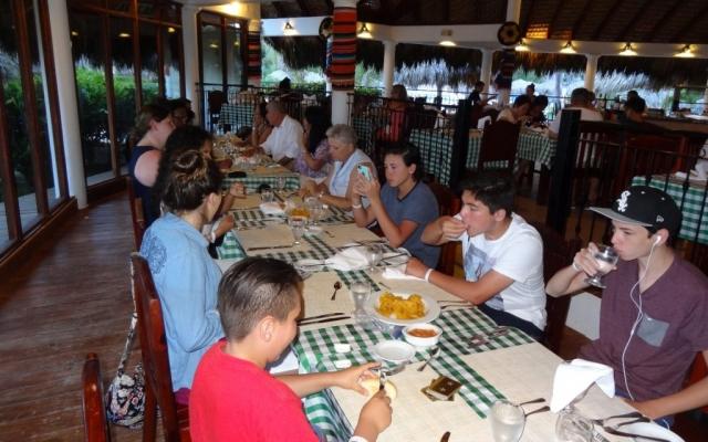 2016 Dominican Republic- Punta Cana - Tamas - VIK Hotel Dining