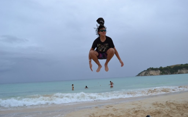 2016 Dominican Republic- Punta Cana - Luke Tamas at Macao Beach