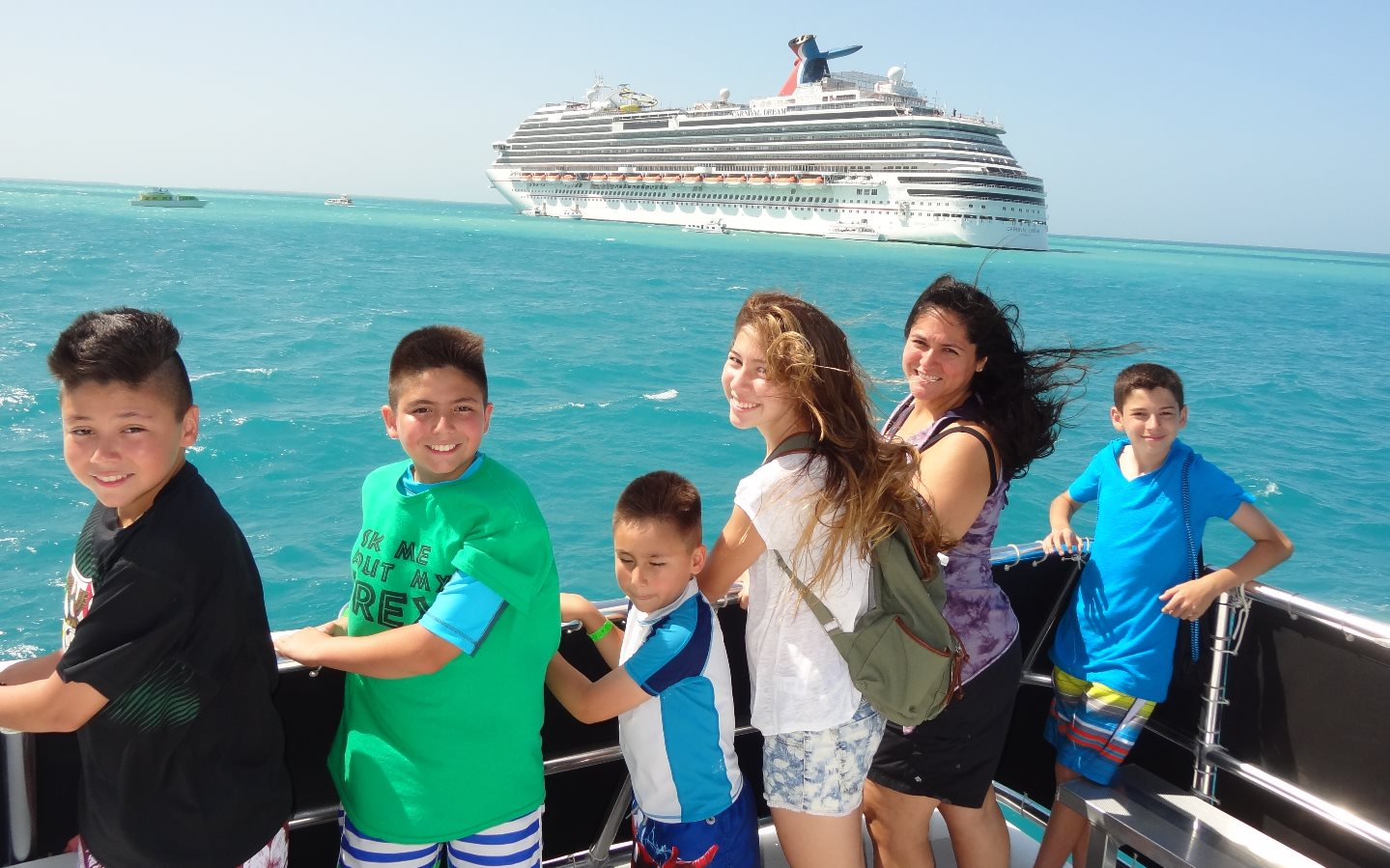 2014 Boat ride to Belize